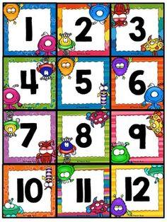 by French Buzz Preschool Printables, Preschool Crafts, Kindergarten Classroom, Kindergarten Activities, Student Numbers, Flashcards For Kids, Classroom Board, Math Word Problems, English Activities
