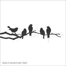 birds on branch stencil - Google Search