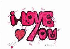 LG draw N°51 - I love you  #lgdraw #lg #draw #drawing #art #design #creativity #imagination #creation #conception #love #iloveyou #iloveu