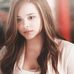 Chloe Moretz in If I Stay. I want me hair to curl/wave in that way soooo badly!!!