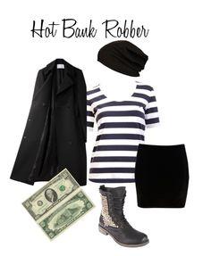 November Grey: Happy #Halloween ~ Last minute #costume ideas! Hot #bankrobber
