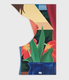 View Bedroom Painting #67 by Tom Wesselmann's at Almine Rech Gallery in Paris, France. Browse now on Ocula.