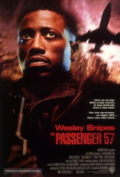 Passenger 57 movie poster