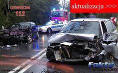 Poślizg na górze Grojeckiej. Droga już przejezdna – AKTUALIZACJA #Grojec #wypadek #zderzenie #kolizja #policja #straż #pogotowie
