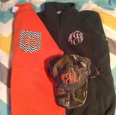 I need this for when I go Hunting with the boo thing. Monogrammed Gifts from MarleyLilly.com