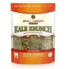 Alive & Radiant Foods Kale Krunch Cheezy (12x2.2oz )