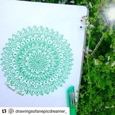 Looking for a Way to Relax? Try Coloring! Peaceful Words, Ways To Relax, Inspire Others, Gel Pens, Western Australia, Instagram Accounts, Mandala, Doodles, Artwork