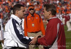 Scarbinsky: Nick Saban compliments Gene Chizik but doesn't lobby for him