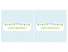 free printables boy birthday candy bar wrappers blue green