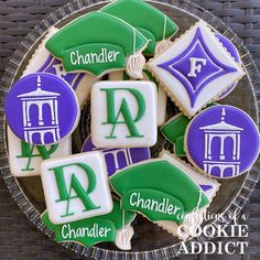 Congrats to Chandler! Furman University is getting the best of the best! #furman2024 #acookieaddict The Best, Addiction, University, Cookies, Desserts, Food, Tailgate Desserts, Biscuits, Deserts