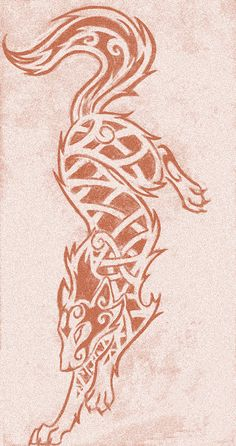 Knotwork Wolf by darazan                                                                                                                                                                                 More