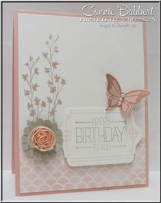 Nature's Perfection, Because You Care, Create with Connie and Mary Saturday Blog Hop, Stampin' Up!, #stampinup, Connie Babbert, www.inkspiredtreasures.com