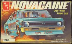 Model Car Box Art