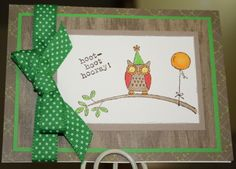 Hoot Hoot Hooray Birthday by kiddielitter - Cards and Paper Crafts at Splitcoaststampers