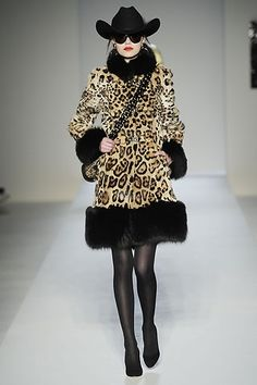 Estampado leopardo moda invierno 2011   HOYModa