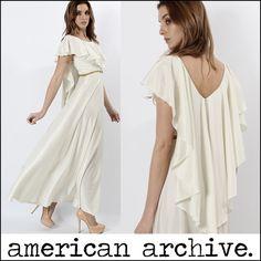 Vtg 70s Grecian Goddess Draped Cape Boho Wedding Cocktail Disco Party Maxi Dress   eBay