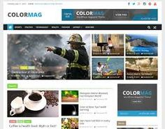 Creating a magazine website is easy through WordPress and Colormag theme. Learn more about how to setup the WordPress magazine website in this article Wordpress News Theme, Best Free Wordpress Themes, Themes Free, Premium Wordpress Themes, Wordpress Org, Wordpress Plugins, Free Magazines, News Magazines, E Commerce