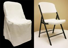 Wholesale wedding Light Ivory/Off White polyester LIFETIME folding chair cover for party events. Folding Chair Covers, Plastic Folding Chairs, Accent Chairs Under 100, Wayfair Living Room Chairs, Chair Sashes, Eames Chairs, Arm Chairs, Office Chairs, Lounge Chairs