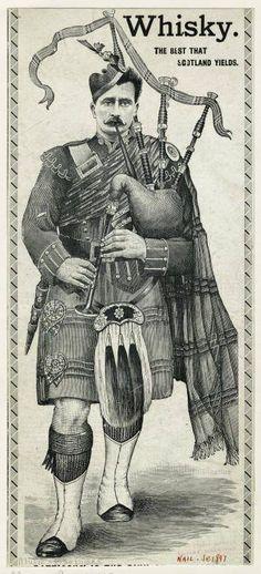 Garde écossais jouant la cornemuse, 1880 by Detaille | Men ...