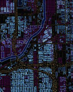 "th3d3m0nl0rdz3r0: ""City Traffic Cyberpunk """