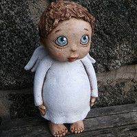 Ceramic Art, Garden Sculpture, Polymer Clay, Sculptures, Pottery, Ceramics, Biscuit, Outdoor Decor, Cute