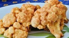 1 couve - flor grande cortar os talos um a um  - 1 ovo  - 1 pacote de queijo ralado  - 3 colheres de farinha de trigo  - 150 ml de leite  - Salsinha e cebolinha picadas a gosto  - Sal a gosto, se necessário  - Óleo para fritar  -