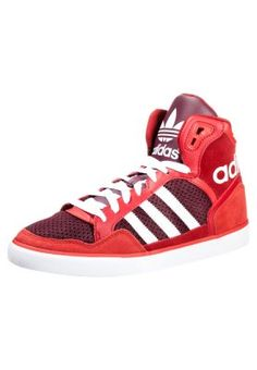 297f583a37a4c EXTABALL - High-top trainers - red