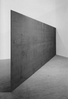 Richard Serra, Strike: To Roberta and Rudy, 1969-1971