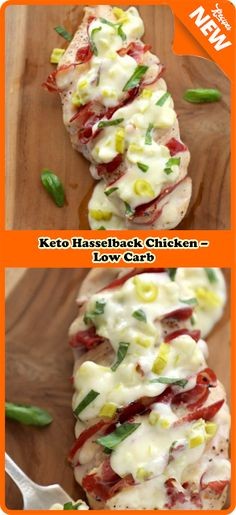 Keto Hasselback Chicken – Low Carb | Jos