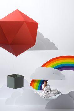 Whimsical Dreamworlds Created by Cardboard by Carolin Wanitzek