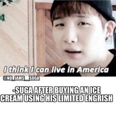 Actually, he bought 3 diff icecreams. He's more than capable
