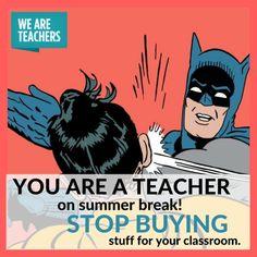 These 26 Summer Teacher Memes Make Us Feel Seen - WeAreTeachers Biology Humor, Grammar Humor, Chemistry Jokes, Science Jokes, Teaching Memes, Teaching Methods, Teacher Summer, Teachers Be Like, Summer Humor
