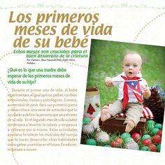Mi Pediatra y Familia -  Los primeros meses de vida de su bebé  #mipediatrayfamilia #queremosniñossaludables