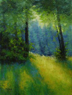 ©2015 Paula Ann Ford, Sunstripes, 8x6, soft pastels on Uart 400