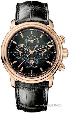 70bf7792733 Мужские часы Blancpain Leman Perpetual Calendar Flyback Chronograph  2685F-3630-53B обзор