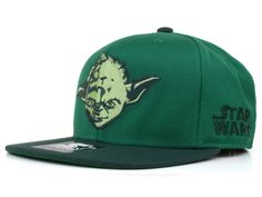 STAR WARS YODA METALLIC XL SNAPBACK CAPS Snapback Cap df3d76341496