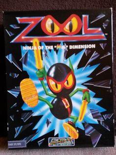 Jeux Atari ST -> Zool
