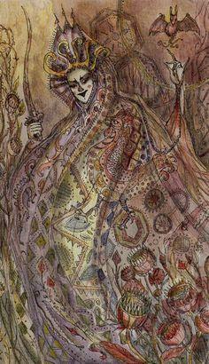 Le cavalier d'épées - Tarot Paulina par Paulina Cassidy