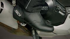 SIDI Black Rain Boots Review at RevZilla.com