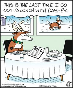 15 Christmas Comic Strips By Off The Mark That Are Too Funny To Miss - World's largest collection of cat memes and other animals Funny Christmas Pictures, Funny Christmas Cards, Christmas Humor, Christmas Fun, Xmas, Funny Christmas Cartoons, Christmas Doodles, Christmas Quotes, White Christmas