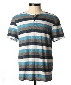 Distillery andrew striped tee shirt @Chris Munroe
