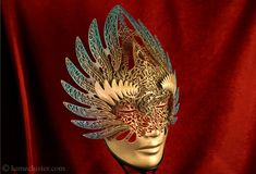 Artist Melissa Ng #3DPrints amazing mask designs