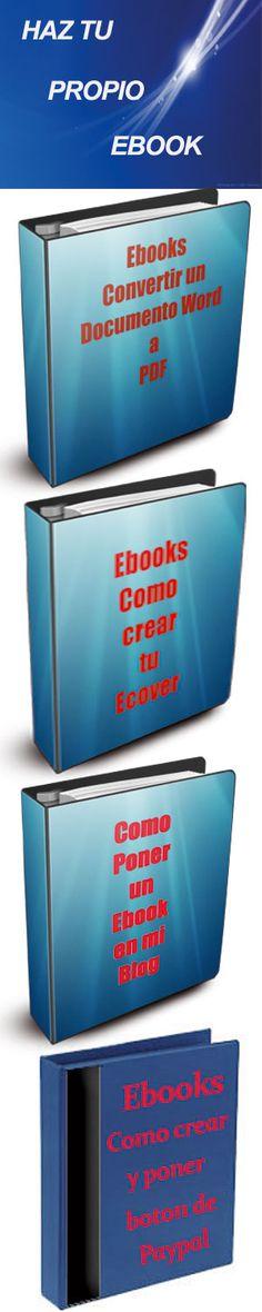 Todos los pasos que debes dar para hacer tu propio Ebook