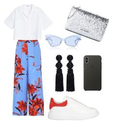 Sans titre #25 by ambre0901 on Polyvore featuring polyvore, fashion, style, Acne Studios, Diane Von Furstenberg, Alexander McQueen, Love Moschino, Oscar de la Renta, Apple and clothing