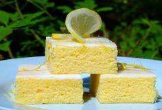 Lemon Brownies...From Beyond My Kitchen Window ♥