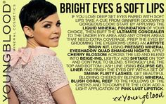 Bright Eyes & Soft Lips Makeup Tutorial by Youngblood Mineral Cosmetics.