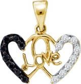 14KT Yellow Gold 0.22CTW Diamond  Heart Pendant. spring with style. Show today: https://www.zenithmart.us/14KT-Yellow-Gold-0-22CTW-Diamond-Heart-Pendant-p/156-21754861.htm