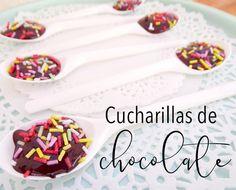 cucharitas_de_chocolate_peque Breakfast, Recipes, Food, Chocolate Spoons, Morning Coffee, Essen, Meals, Ripped Recipes, Eten