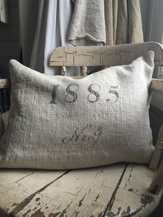 antique-grain-sack-pillow