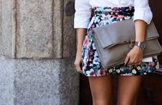 Skirt. Clutch. Top. Need it all.